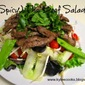 (Spicy) Thai Beef Salad