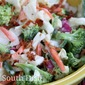 Broccoli and Cauliflower Refrigerator Salad
