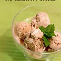 Caramel Macchiato No Churn Ice Cream #IceCreamWeek