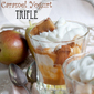 Pear and Caramel Yogurt Trifle