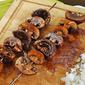 Homemade Harissa Recipe for Mushroom Kabobs