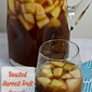 Roasted Harvest Fruit Sangria With A Bit Of A Homestyle Twist