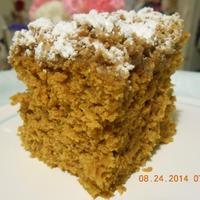 Spiced Pumpkin Crumb Cake