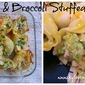 Chicken & Broccoli Stuffed Shells