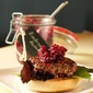 Gourmet Burgers and Luscious, Spiced Beetroot Relish