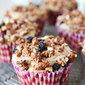 Mixed Berry Granola Muffins