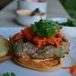 Banh Mi Burgers with Sriracha Mayo
