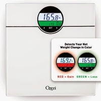 Ozeri WeightMaster 400 lbs. Digital Bath Scale with BMI and Weight Differential Detection Review #Ozeri
