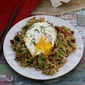 Bacon, Broccoli, and Garlic Fried Rice #BaconMonth