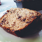 Chocolate Chip Banana Loaf with Brown Sugar Topping