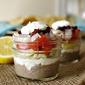 Individual 7 Layer Greek Dip Jars