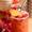 Peach Melba and Bourbon Cocktail