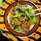 Pork and Broccoli Stir-Fry with Peanut Sauce