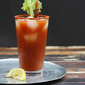 Spicy Bacon Bloody Mary and Bacon-Infused Vodka #BaconMonth