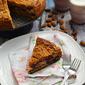 Berry almond coffee cake