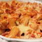Baked Rigatoni with Roasted Cauliflower With A Spicy Pink Sauce