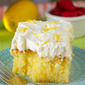 Drenched Lemon Cream Cake