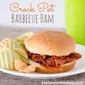 Crock Pot Barbecue Ham