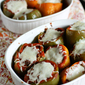 Bison and Brown Rice Stuffed Peppers