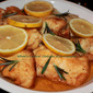 Lemon Rosemary Chicken Cutlets