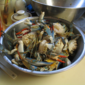 Beer Sauteed/Steamed Cleaned and Split Blue Crabs