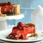 No Bake Cheesecake with Homemade Strawberry Topping