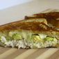 Lemon-Tarragon Tuna Melt with Provolone