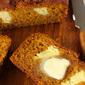 Cheesecake-Stuffed Pumpkin Bread