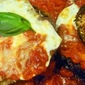 Hot And Humid, With A 50% Chance of Showers... Eggplant Parmigiana