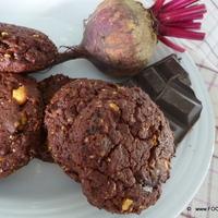 CHOCOLATE nut BEET cookie - No Egg