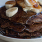 Buckwheat Hoe Cakes with Fresh Banana