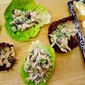Pan-Seared-Chicken Salad Lettuce Cups