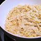 Fettucine Alfredo with Quattro Pasta
