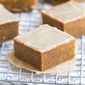 Pumpkin Spice Bars with Bourbon Butter Glaze
