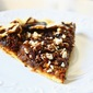 Caramelized Onion Pumpkin Galette with Feta Cheese & Balsamic Sauce