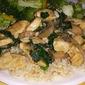 Mushroom Spinach Chicken