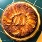 Cast Iron Skillet Chai Apple Upside Down Cake