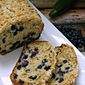 Maple Blueberry Zucchini Loaf