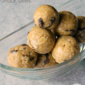 Oatmeal Raisin Snack Bites