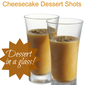 Caramel Pumpkin Cheesecake Dessert Shots!