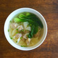 Pork And Shrimp Wonton Soup