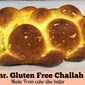 Easy Gluten Free Challah ( batter recipe)