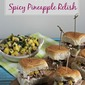 Sliding Into Monday with Kalua Pork Sliders With Spicy Pineapple Relish #10DaysofTailgate