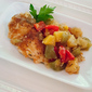 Hawaiian Chicken Breasts with Bell Peppers and Pineapple