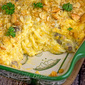 Creamy Hashbrown Cheese Casserole