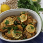Chicken with Harissa and Chickpeas