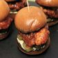 Korean Fried Chicken Sliders
