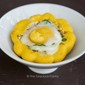 Clean Eating Baked Star Squash & Eggs