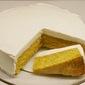 Mandarin Cake with Yogurt Icing