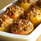 Low Sugar Baked Apples with Coconut Walnut Stuffing